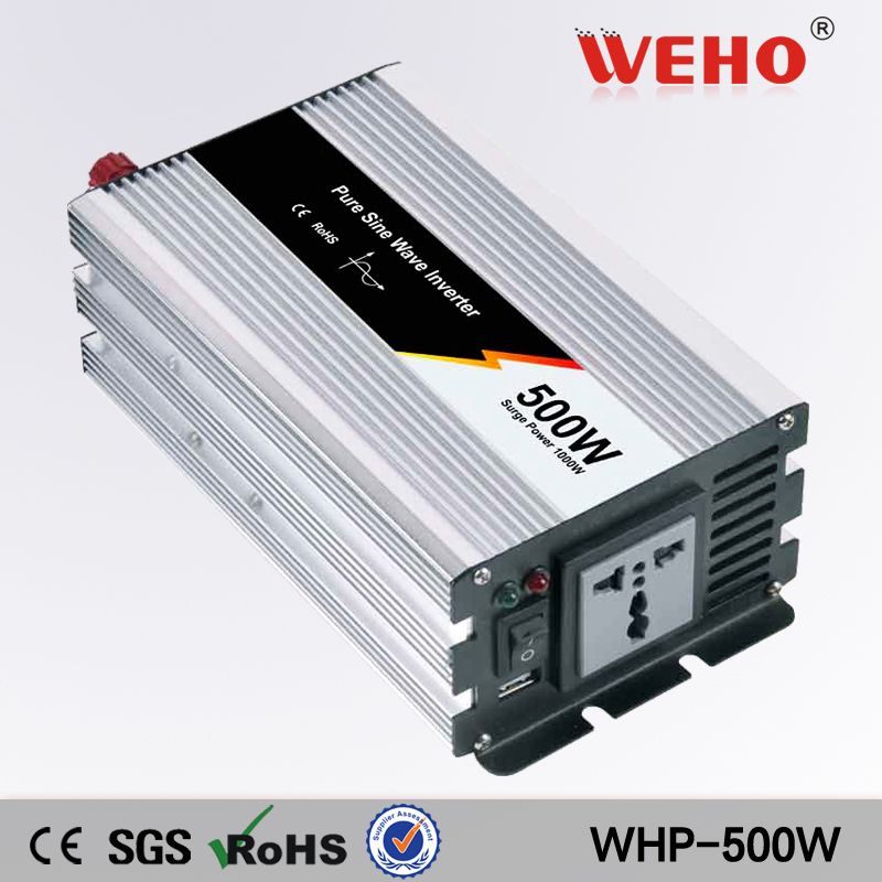 (WHP-500-242)18 Months warranty 500W 24VDC to 220VAC pure sine wave dc ac inverters