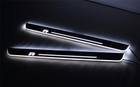 eOsuns LED moving door scuff Nerf Bars & Running Boards door sill for Volkswagen Scirocco /Scirocco R 2009 15, moving light