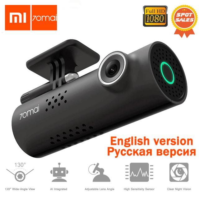 Original Xiaomi 70mai Car DVR Dash Cam 1080P Full HD Night Vision Voice Control Driving Recorder Video Recording Dash Camera