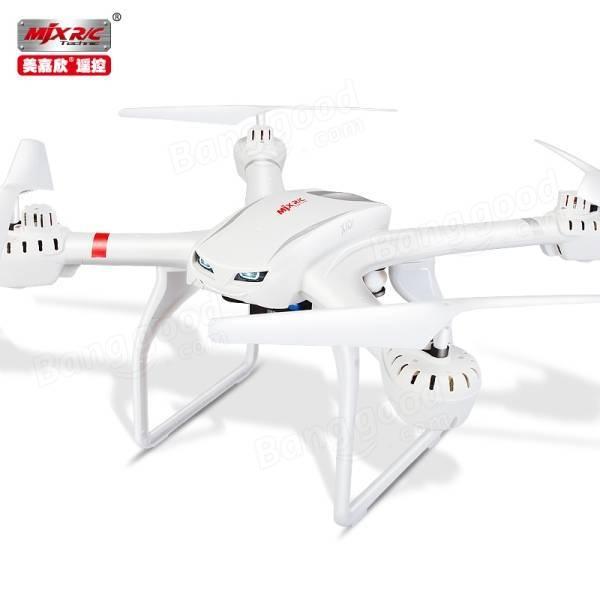 MJX X101 2.4 Г 4CH 6 Ось 720 P FPV Набор Fit Безголовый Режим Одним Из Ключевых Возвращения RC Quadcopter RTF