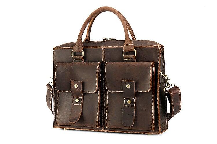 genuine leather briefcase (5)