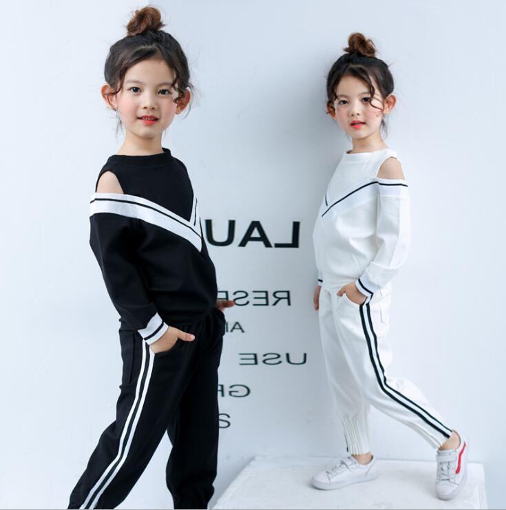 חליפת ספורט ילד ילדה סתיו ילדים - בגדי ילדים