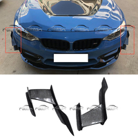 MAD Style Car Styling Carbon Fiber Front Bumper Pieces Splitters for BMW F80 F82 F83 M3 M4