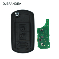 DJBFANDEA 315MHZ Car Remote Key for Land Rover Discovery 3 LR3 with ID46 integrated Chip HU101 Blade