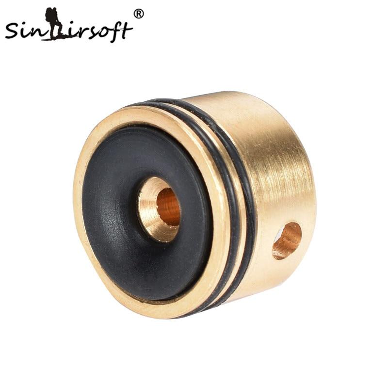SINAIRSOFT Silent Cylinder Head for Airsoft AEG Ver.2/3 Gearbox AK47 AK74 AUG M4 SA0401