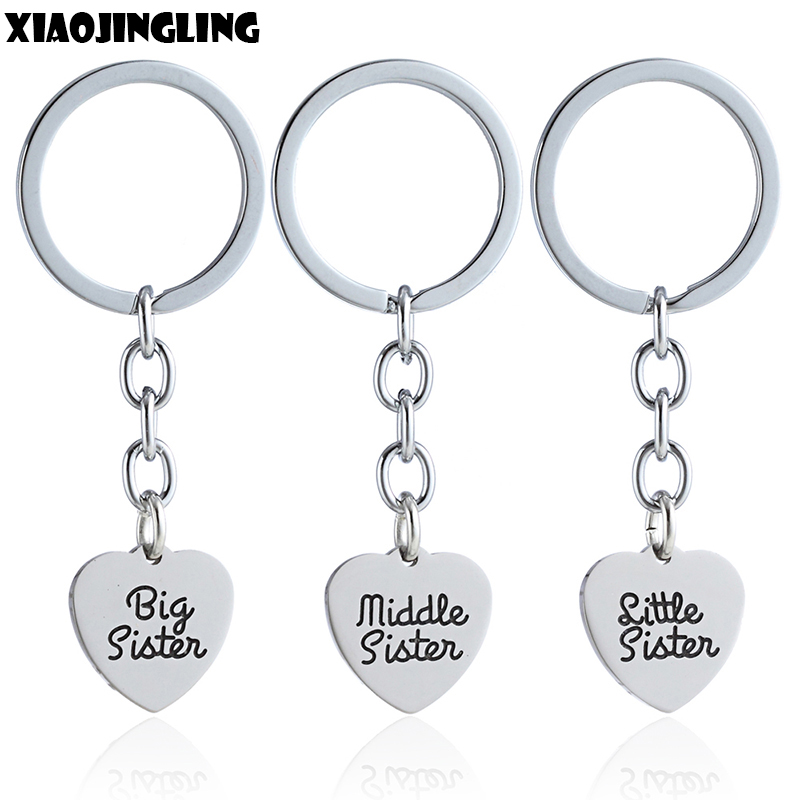XMAS GIFT keyring for big middle little Sister Friend Christma Gifts Keyring UK