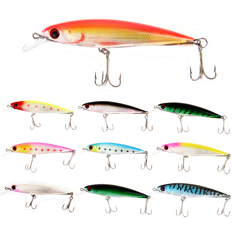 1PC Fishing Lure Minnow Lures Hard Bait Pesca 11CM/13.5G Fishing Tackle isca artificial Quality Hook Swimbait 1pcs fishing lure bait minnow with treble hook isca artificial bass fishing tackle sea japan fishing lure 3d eyes