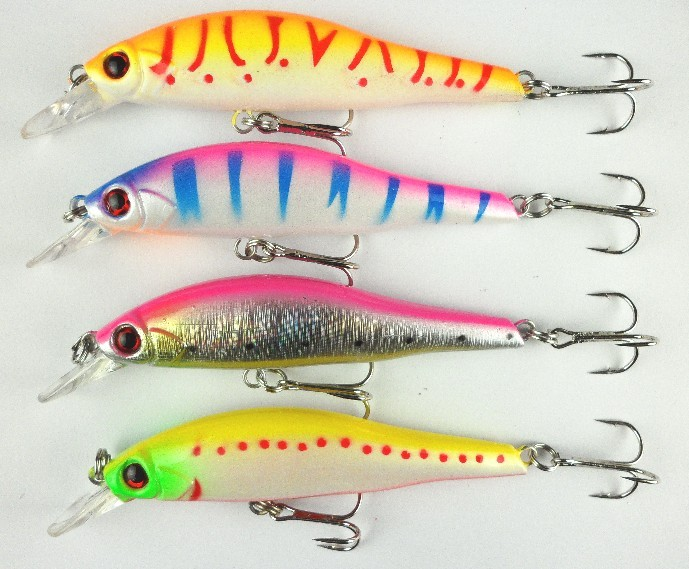 New Arrival 9.5cm/11.5g fishing lures with hooks deep swim hard bait isca artificial baits pesca minnow fishing wobbler