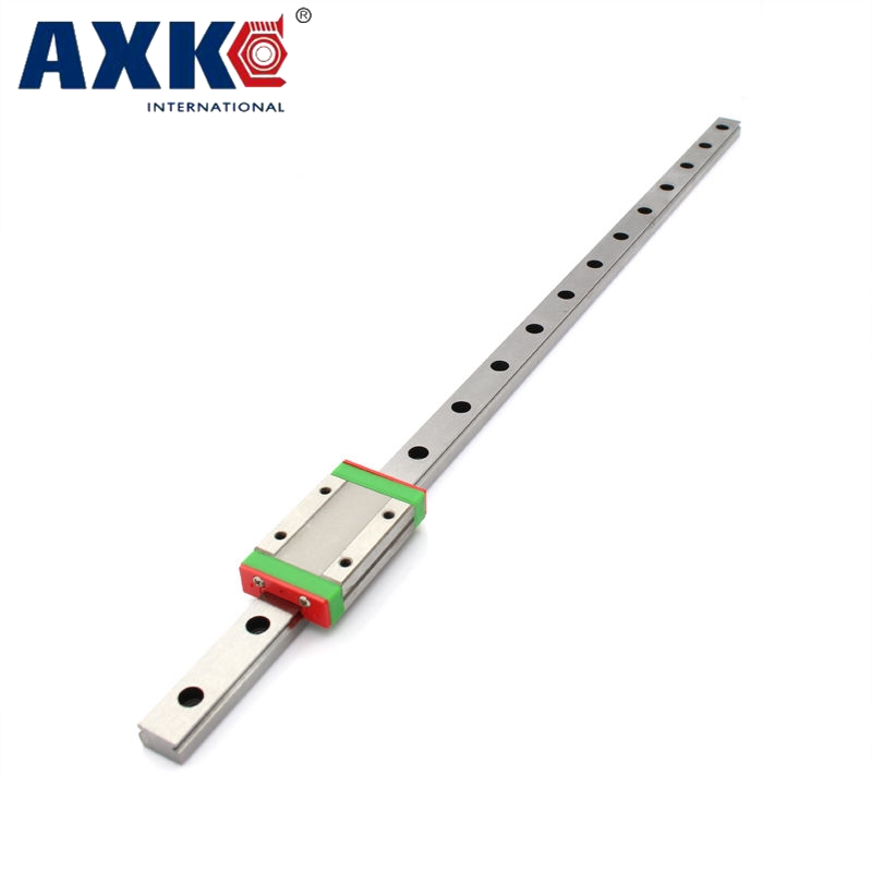12mm linear guide MGN12 L 100mm linear rail with 1pcs MGN12H linear carriages block for CNC DIY and 3D printer XYZ cnc free shipping to argentina 2 pcs hgr25 3000mm and hgw25c 4pcs hiwin from taiwan linear guide rail