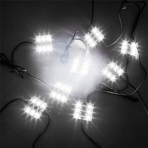 Image 3 - Luz Interior para caravana, lámpara de techo para coche y furgoneta, 60 LED, 12V, 5730 SMD, bajo consumo, alto brillo, para remolque, barco, #292140