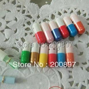 Promotion Mixed Random Colors Love Pills Capsule Message Pills