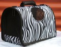 [ Fly Eagle ] Fashion Cartoon Oxford Small Pet Carriers Zebra Shoulder Bags Handbag Dog Bag Pet Supplies Free Shipping