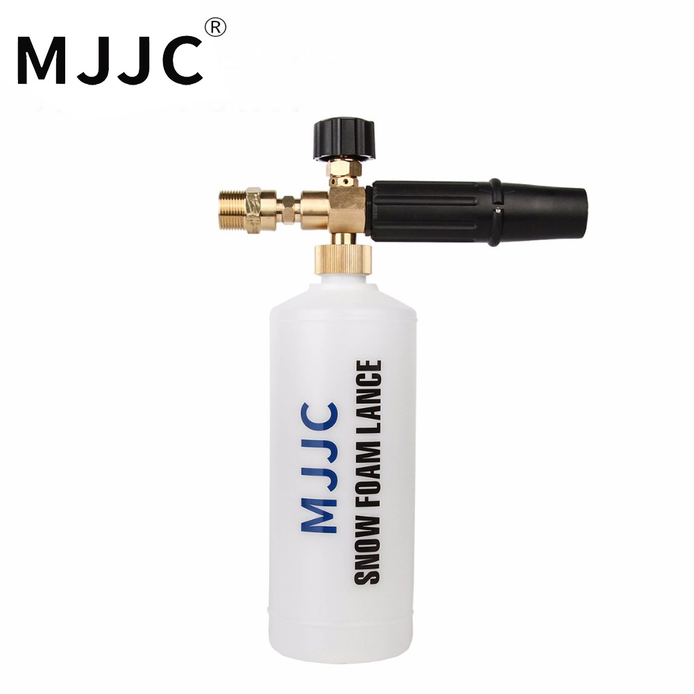 MJJC Brand Snow 2017 Foam Lance with M22 Male Thread Adapter Connection with High Quality