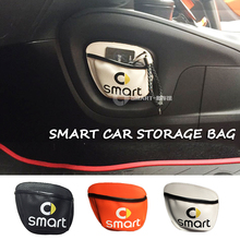 New Car storage Bag Car Mobile Phone Sundried Card Storage Bag Mesh for Smart 450 Smart 451 smart 453 Fortwo Forfour