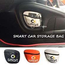 新しい車の収納袋車の携帯電話用 Sundried カード収納袋メッシュ 450 451 スマート 453 フォーツーフォーフォー
