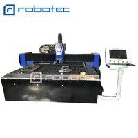 Robotec 1530 Pipe&Sheet Metal Fiber Laser Cutting Machine with Raycus Generator