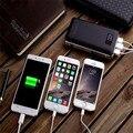 Banco do poder 20000 mah portátil carregador de bateria externa bateria com portas 4.1a para iphone 6 s plus, ipad mini, andoroid celular
