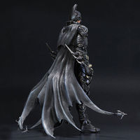 7'' DC Batman Arkham Knight Action Figures Toys Anime Movie Model Heavily armored Batman Movies Figure Kids Gifts with box