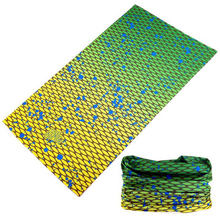Волшебный шарф многофункциональная бесшовная повязка труба Женская