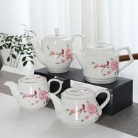 TANGPIN big capacity ceramic teapot kettle restaurant porcelain tea pot chinese kung fu tea pot drinkware