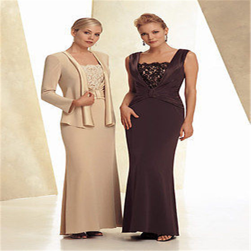 2016 Sale Actual Images Chiffon Full Mother Daughter