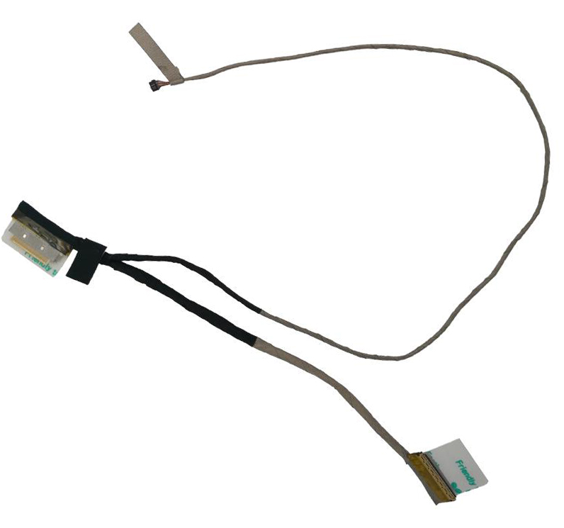 New LCD LED Video Flex Cable For <font><b>ASUS</b></font> Vivobook <font><b>X201E</b></font> X201L X201S X202E <font><b>Q200E</b></font> S200E PN:DD0EX2LC030 Notebook LCD LVDS CABLE image
