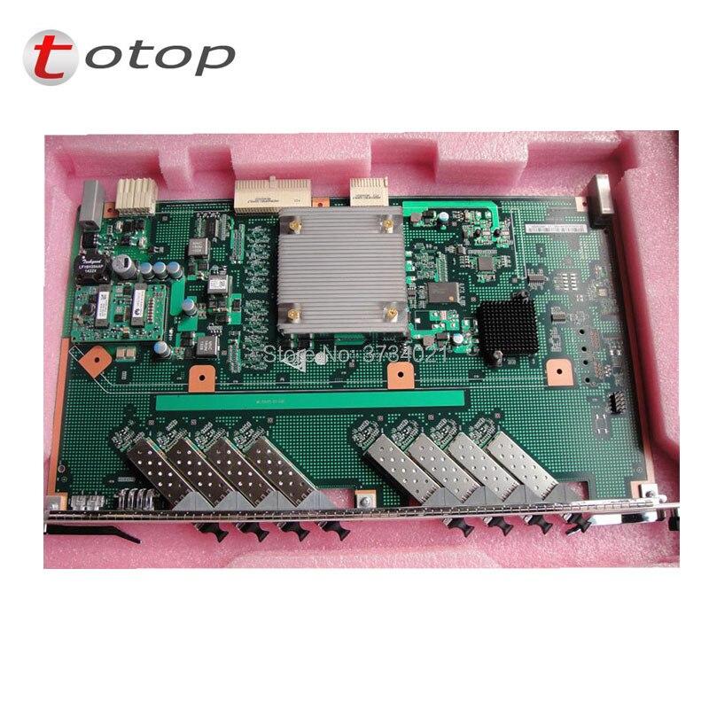 100% carte de service d'origine Huawei 8 Ports GPBH B + avec 8 modules pièces + SFP utilisés pour Huawei MA5680T MA5683T OLT GPON