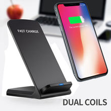 QI Wireless Charger Quick Charge 2.0 Fast Charging for iPhon