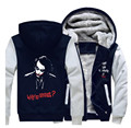 Unisex Winter Thicken Hoodie Batman The Joker Zipper Jacket Sweatshirts Coat Clothing Casual Men Women