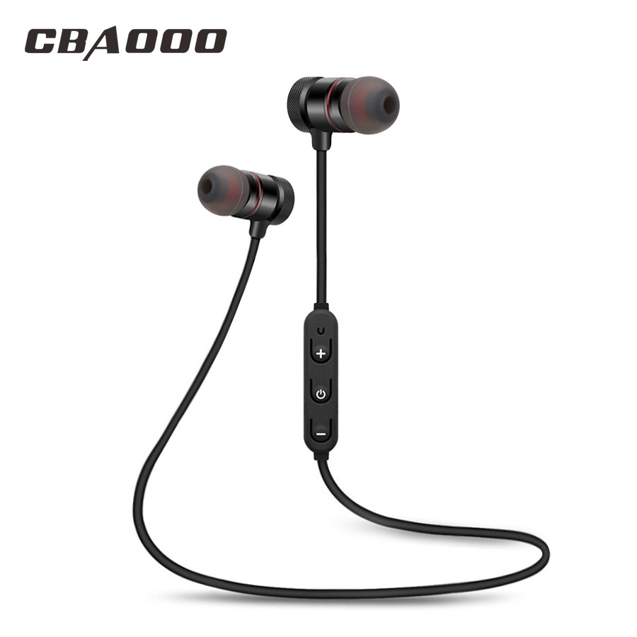 CBAOOO C40 Sport Bluetooth Earphone Wireless bluetooth headset Sweatproof Magnetic Stereo with mic for xiaomi iphone Android