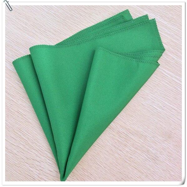 Factory Price !! Factory Price !! 100pcs 45*45cm Green Wedding Napkins Cloth Napkins/fabric table napkins Free Shipping Mariou