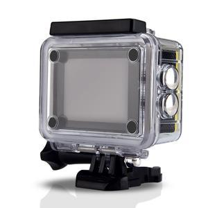 "Image 2 - H9R عمل كاميرا كامل HD 4K 25FPS واي فاي 2.0 ""شاشة كاميرا خوذة صغيرة مع جهاز التحكم عن بعد الذهاب مقاوم للماء برو الرياضة كاميرا الفيديو الرقمية"