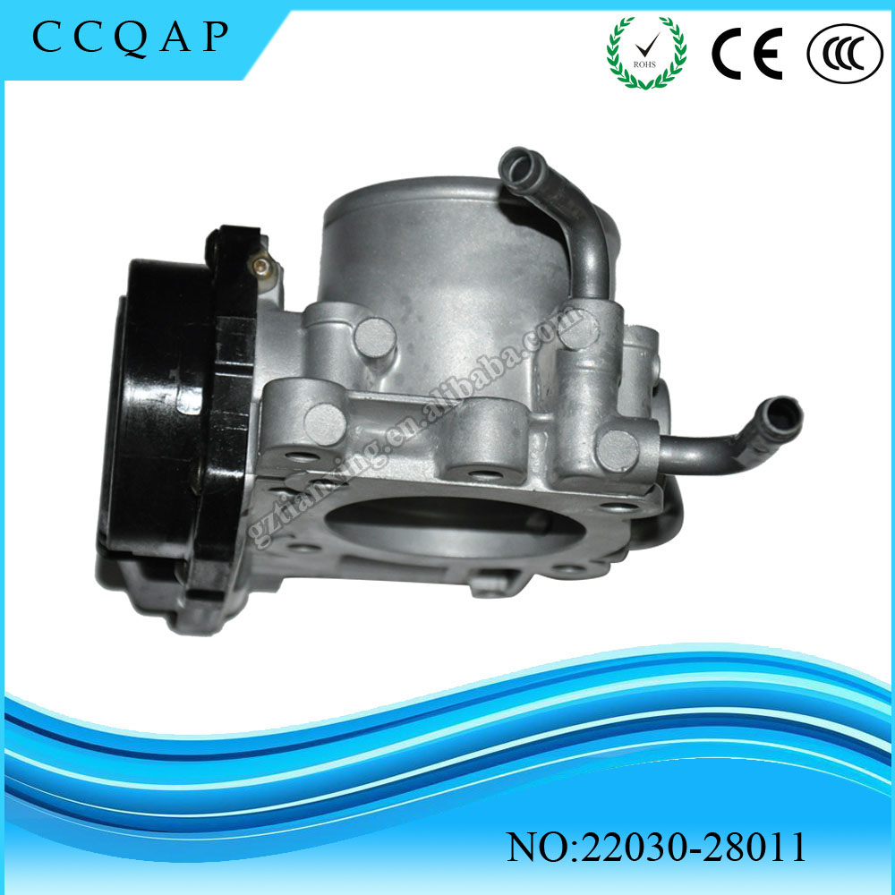 2203028011 Free shipping Throttle Body Assy 22030-28011 For Toyota Rav4 Vista Nadia Caldina 1AZFSE 2.0 22030 28011