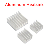 Raspberry Pi Heat Sink Aluminum Heatsink Cooling Pad Radiator for Raspberry Pi 3 Model B+/3/2
