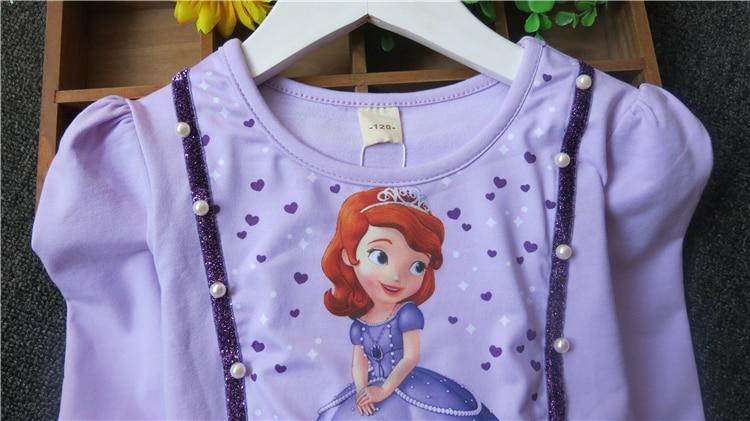 Sukienka dla dzieci Anna i Elsa & Sophia & Snow White Dziewczynka - Ubrania dziecięce - Zdjęcie 4