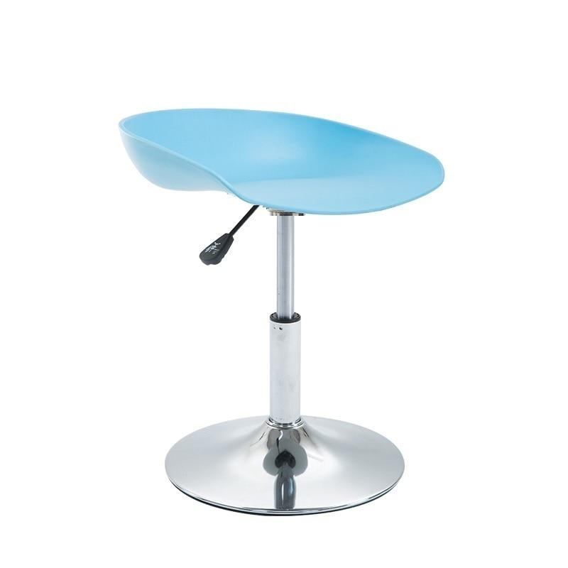 все цены на  blue color bar stool milk coffee desk lifting rotation chair free shipping red gray black color seat furniture shop rest stool  онлайн