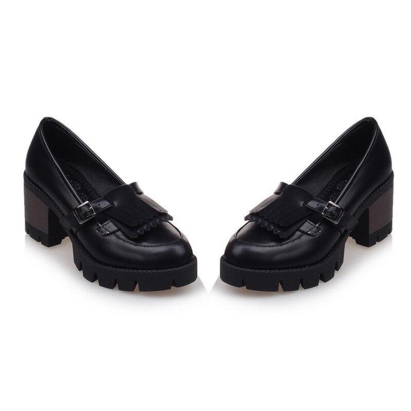 Asumer 2018 frühling herbst neu kommen frauen pumpt mode flacher high heels schuhe einfache komfortable quadratische fersen schuhe