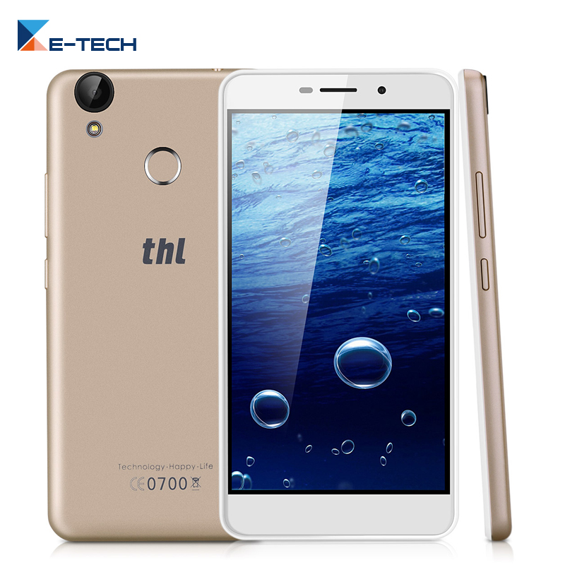 Original THL T9 PRO 4G LTE Mobile Phone 5.5 Inch HD Screen MTK6737 Quad core Android 6.0 2GB RAM 16GB ROM Fingerprint ID 3000mAh