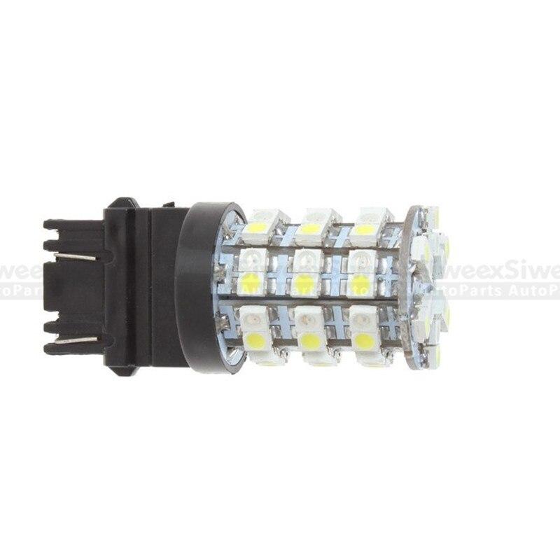 4 X 6000K White 1157 3528 Chip 60 SMD LED Tail Brake Backup Reverse Light Bulbs