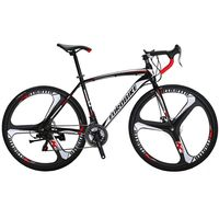 Cyrusher XC550 Racing Road Bike 700Cx28C Steel Frame 21 Speed 27.5 Magnesium Alloy Rim Road Bicicleta Bicycle Double Disc Brake