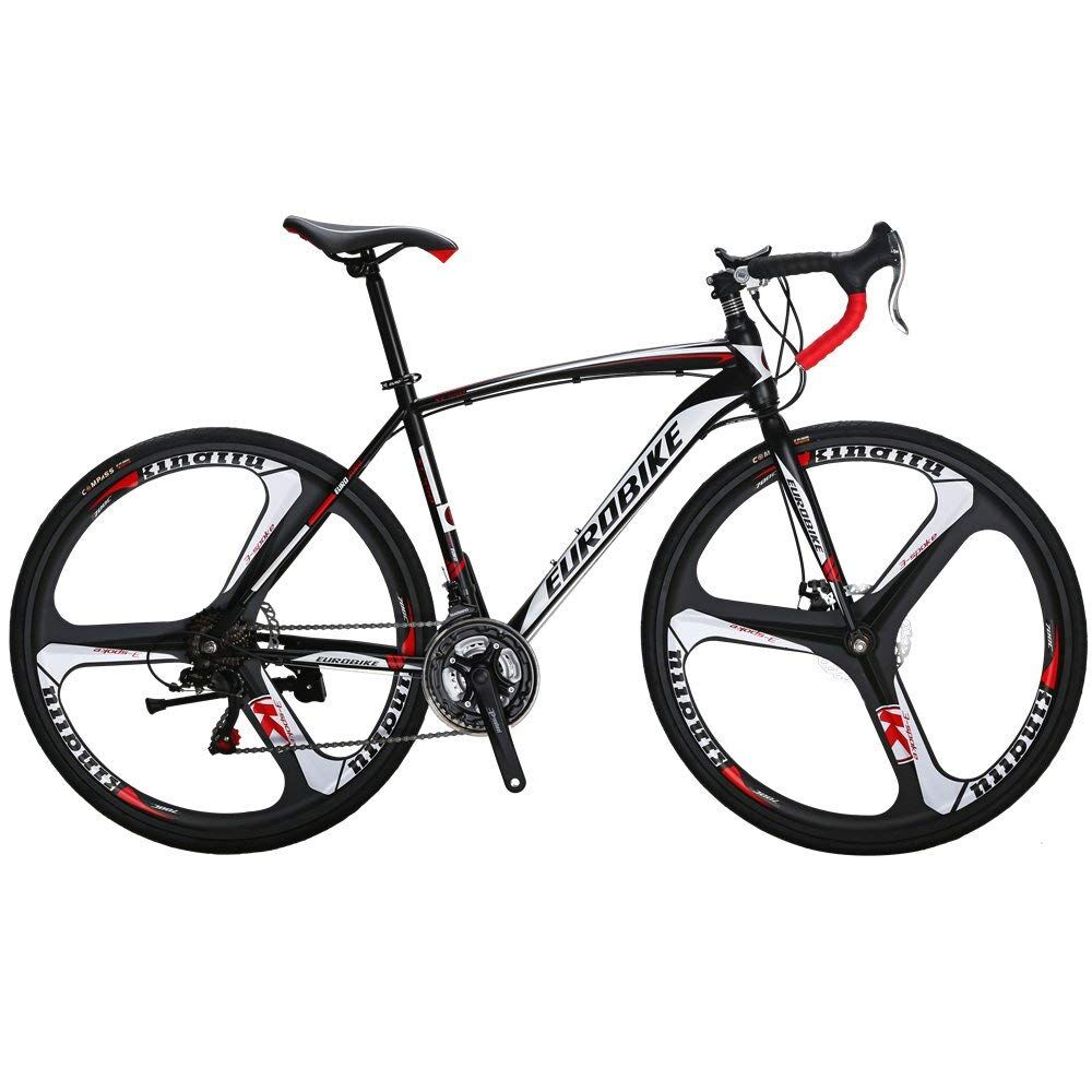 Cyrusher XC550 Racing Vélo De Route 700Cx28C Acier Cadre 21 Vitesse 27.5 Alliage De Magnésium Jante Route Bicicleta Vélo À Double Disque de frein