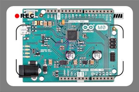 Original italiano M0/MO controlador Board para arduino, ATSAMD21G18 48 pinos LQFP 32-bit 48 MHz 256KB/32KB compatível com arduino UNO