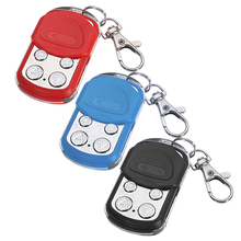 Wireless Universal Remote Control Car Key 433mhz Electric Garage Door Remote Control Key Fob Controller for Garage Door Tools electric control lock remote control system press on release off time delay 3 12s garage entrance door remote controller 315 433