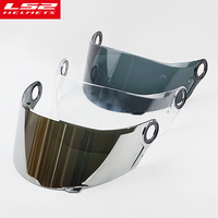 For LS2 FF358 FF396 Full Face Helmet Visor Glass Replacement Shield For LS2 Ff358 Multicolor External