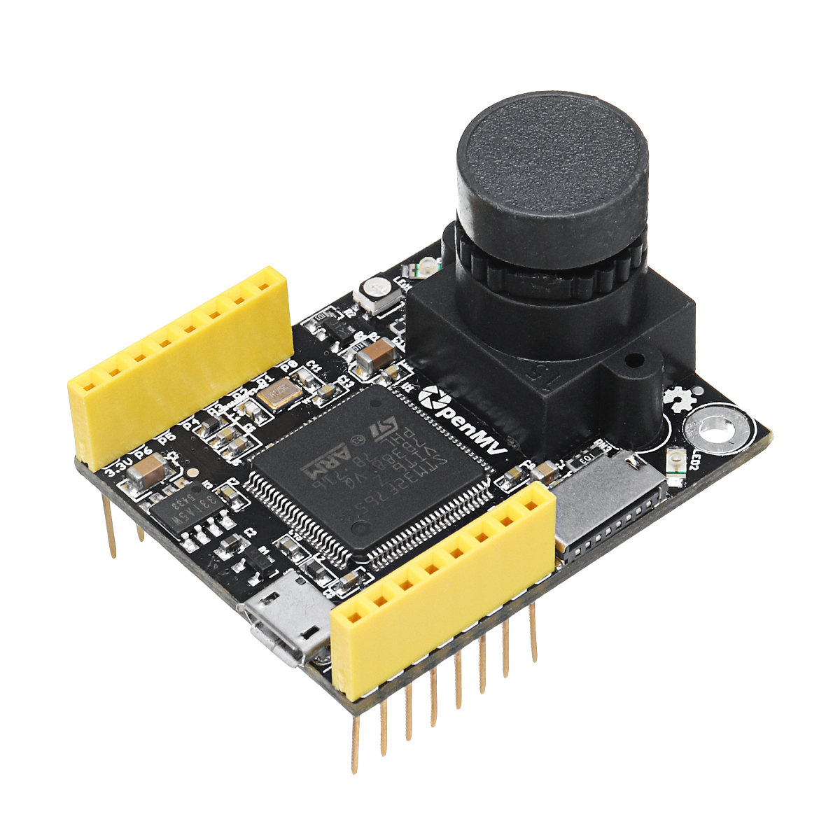 NEW 2018 OpenMV3 Cam M7 Smart Camera Image Processing Color Recognition Sensor Visual Inspection Line Camera Board-in Integrated Circuits from Electronic Components & Supplies