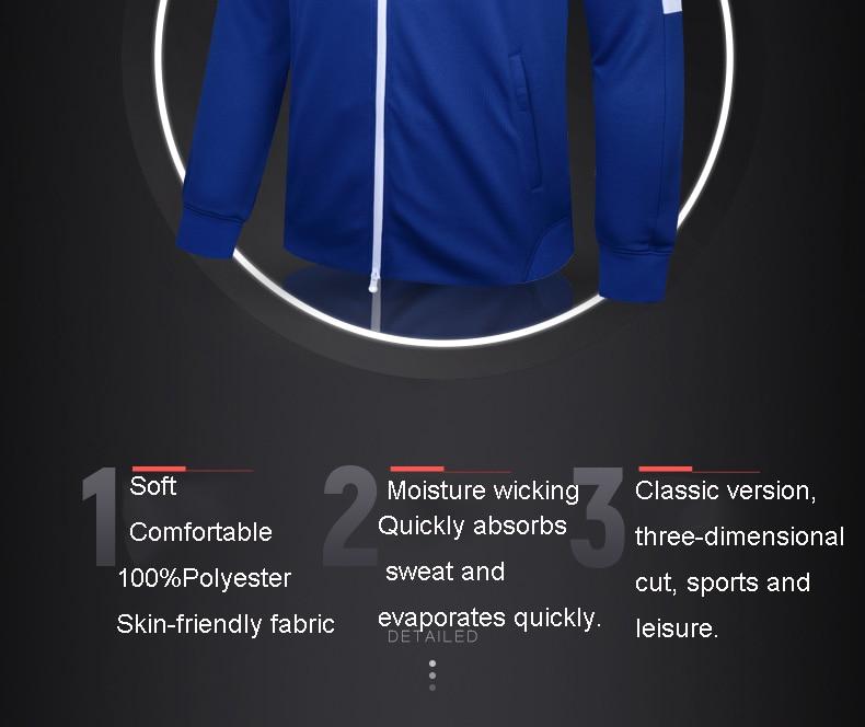 treinamento com zíper jaqueta casaco masculino 3881330