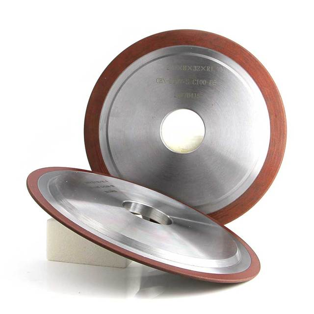 14A1 14F1 HSS CBN grinding wheel for High speed Steel teeth grinding abrasive tools for CNC machine R017