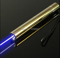 NEW!focusable high power blue laser pointer with 5 star caps 445nm 450nm burning match/paper/dry wood/candle