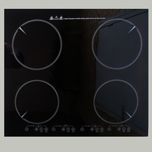RY-ID603GB Touch sensing function Digital display Embedded three 3 eye electromagnetic oven high power head hot pot stove
