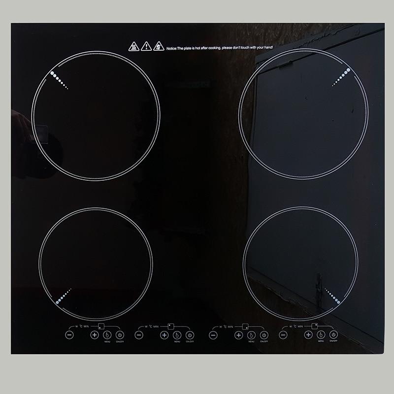 2/3/4 têtes Intégré Induction Infrarouge Cuisinière Intégré Construit en Électromagnétique Cuisson Brûleur Haute Puissance Hot Pot poêle